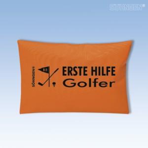 Erste Hilfe Golfer orange