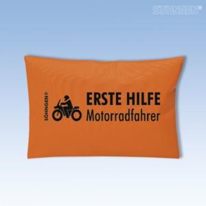 Erste Hilfe Motorradfahrer orange