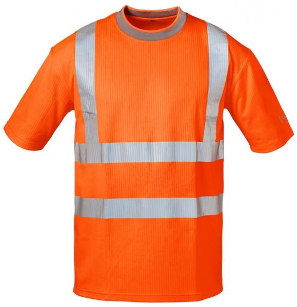 SAFESTYLE® Warnschutz-T-Shirt PEPE mit UV-Schutz orange