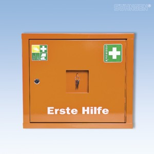 Verbandschrank JUNIORSAFE Norm Plus orange