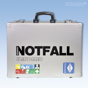 Notfallkoffer CLINOMED Modul A+B+O2/1L