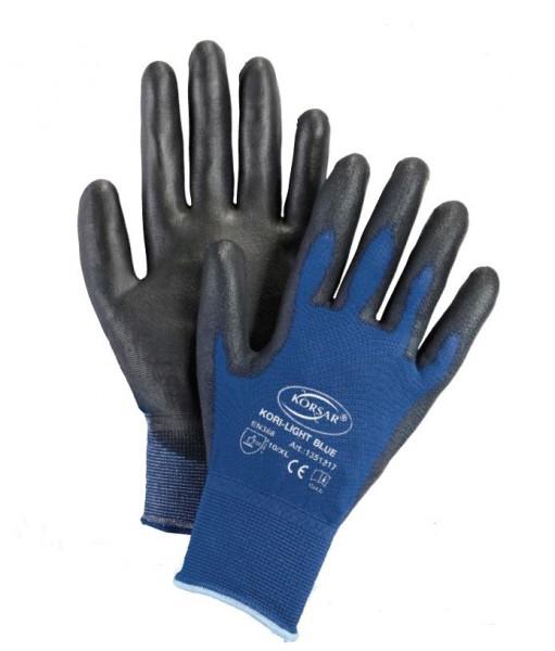 Für Original auswählen besserer Preis für Kundschaft zuerst Korsar Kori-Light Blue leichter Nylon-Feinstrick mit PU-Beschichtung