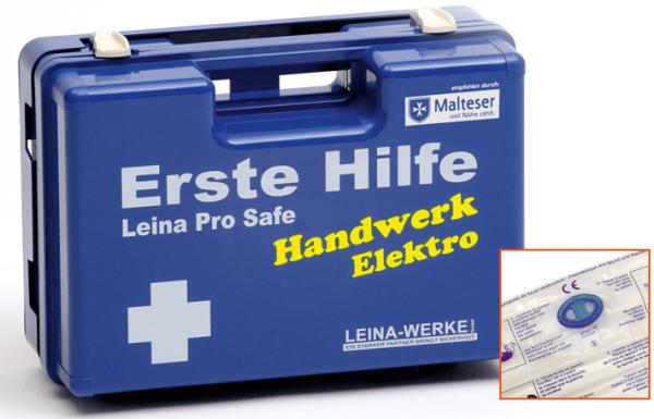 Erste-Hilfe-Koffer Leina Pro Safe - Handwerk: Elektro