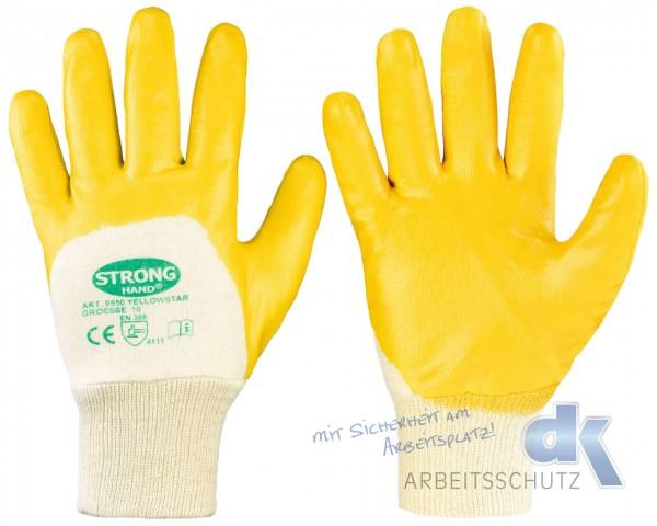 Yellowstar Stronghand Nitril Handschuhe gelb