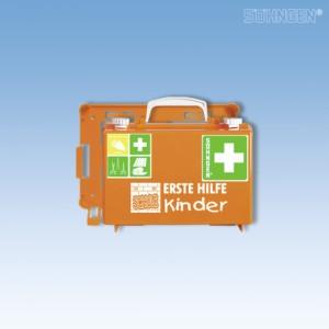Erste-Hilfe-Koffer QUICK-CD Kombi orange 'SCHULE'