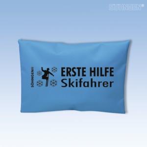 Erste Hilfe Skifahrer blau