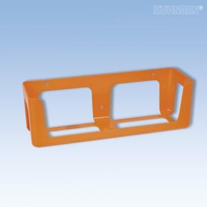 Wandhalterung KIEL Kunststoff orange