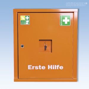 Verbandschrank EUROSAFE Industrie Norm orange