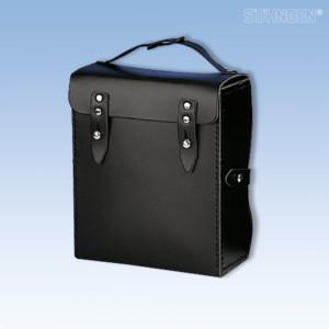 Sanitätstasche DIN 13 160 A Leder-schwarz-leer