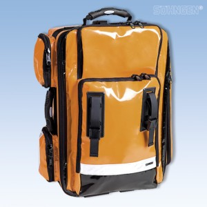 NumberOne Notfallrucksack orange gef. Modul A+B+C+O2/2L