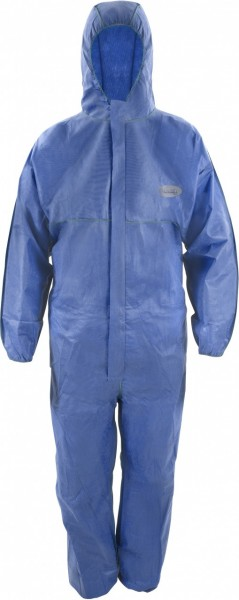 ASATEX CoverTex Chemikalienschutz-Overall C-1/3 weiss/blau